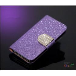 Чехол с блесками и стразами на Iphone 5/5s/6/6plus