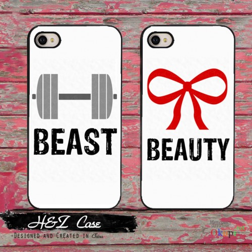Чехол Beast & Beauty на Iphone 5/5s/6/6plus