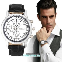 Мужские часы Geneva white