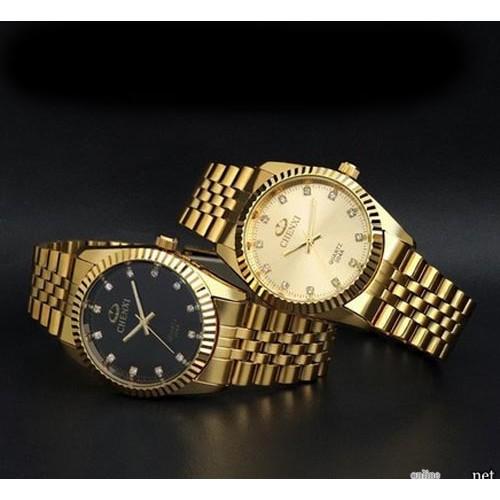 Мужские часы золотые Chenxi