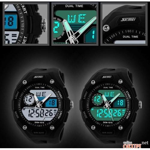 Мужские электронные часы Skmei 1015