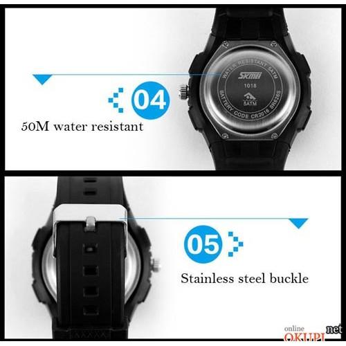 Мужские электронные часы Skmei 1018