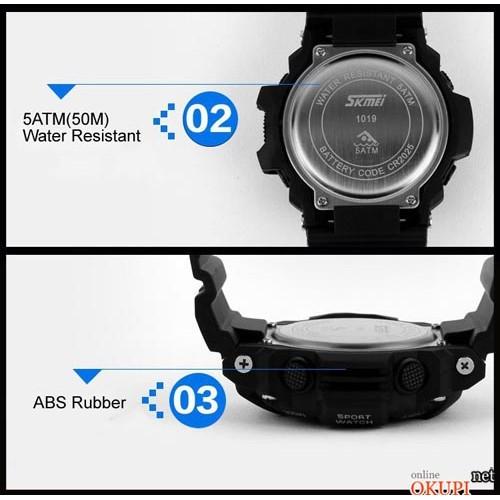 Мужские электронные часы Skmei 1019 G