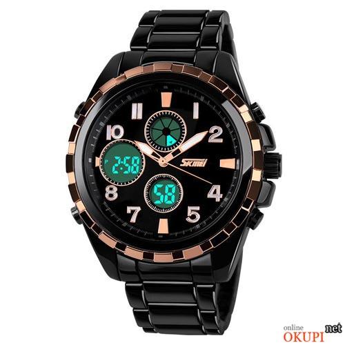 Мужские электронные часы Skmei 1021