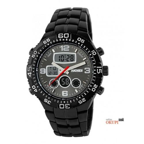 Мужские электронные часы Skmei 1030
