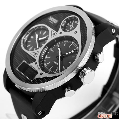 Мужские электронные часы Skmei 1033