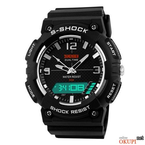 Мужские электронные часы Skmei 1057