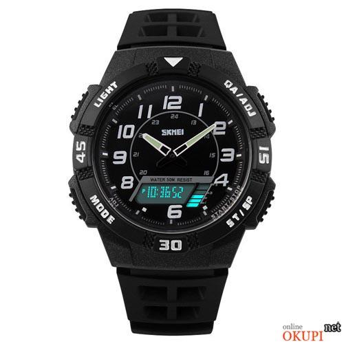 Мужские электронные часы Skmei 1065