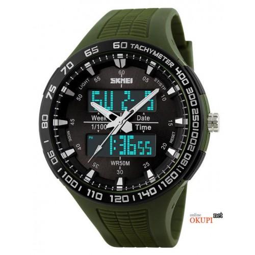 Мужские электронные военные часы Skmei 1066