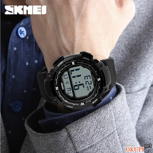 Мужские электронные часы Skmei 1067