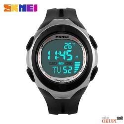 Мужские электронные часы Skmei 1080 с термометром