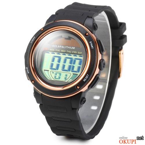 Мужские электронные LED часы Skmei 1096