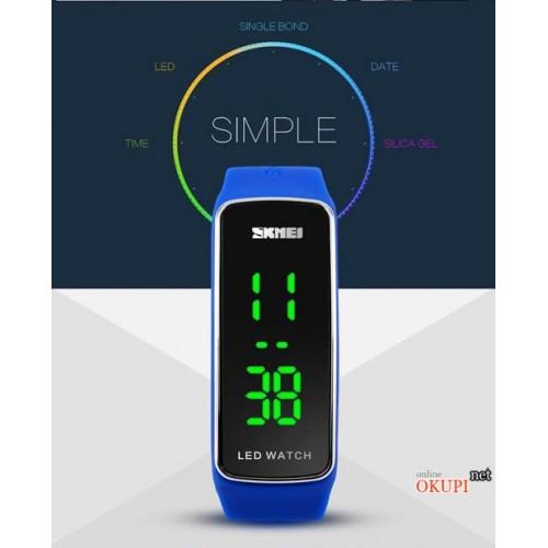 Мужские LED часы браслет Skmei 1119 A