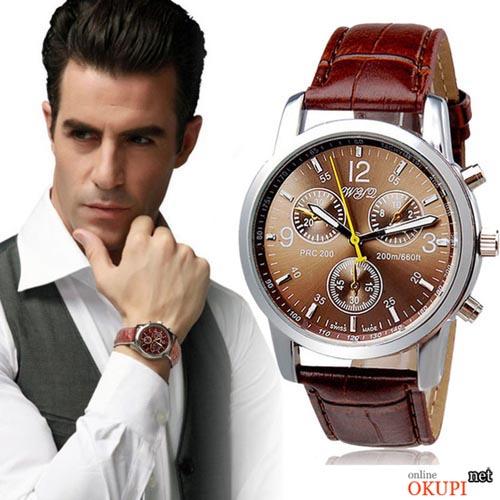 Мужские часы коричневые WYD