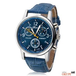 Мужские часы синие классические