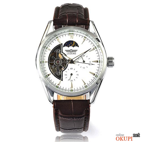 Мужские механические часы Jiedeng Moon