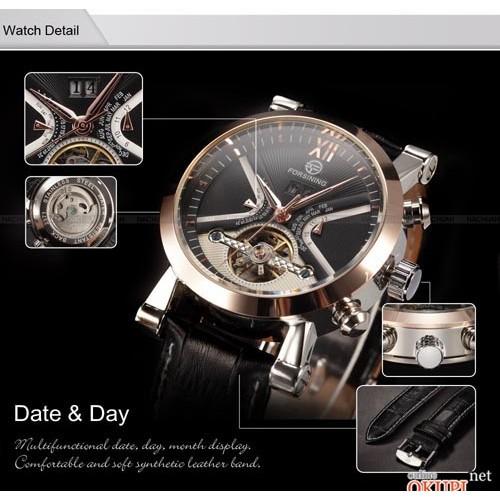 Мужские механические часы Forsining