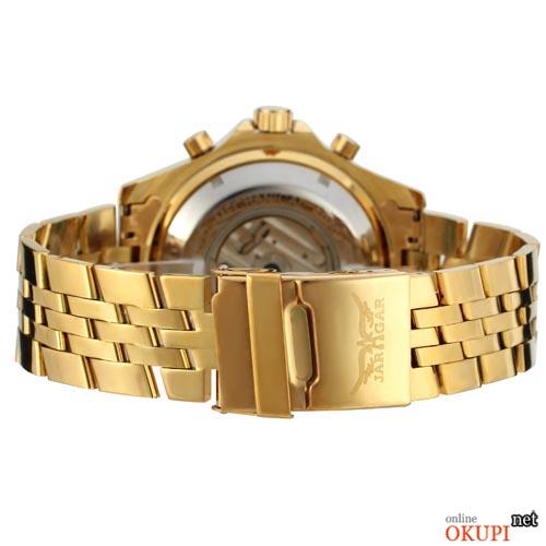 Мужские механические часы Jaragar Military Steel