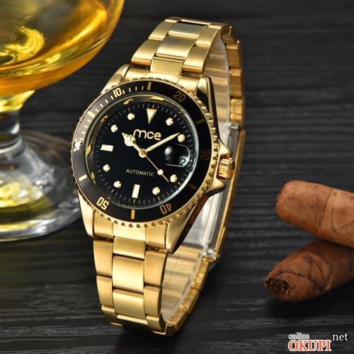 Мужские механические часы MCE gold