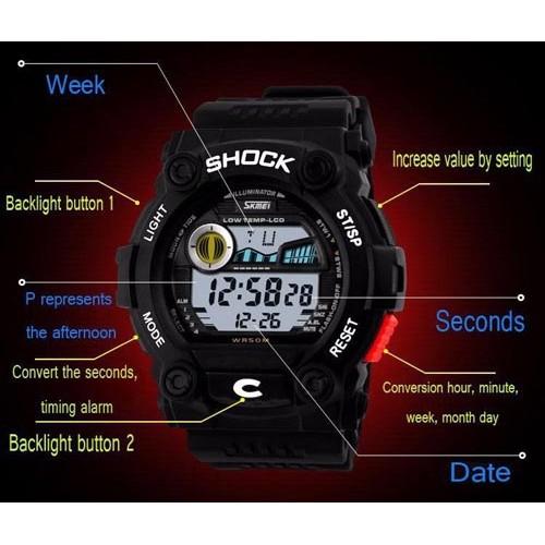 Мужские часы Skmei 0907