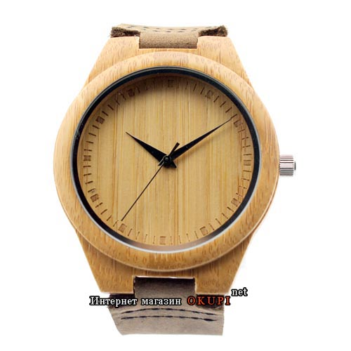 Мужские часы Деревянные miyota