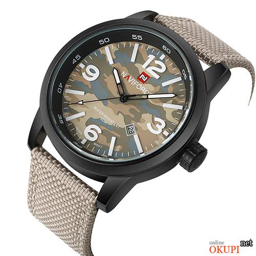 Мужские часы Naviforce LX57 военные камуфляж
