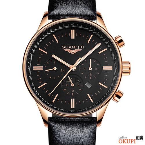 Мужские часы стильные Guanqin GQ12003