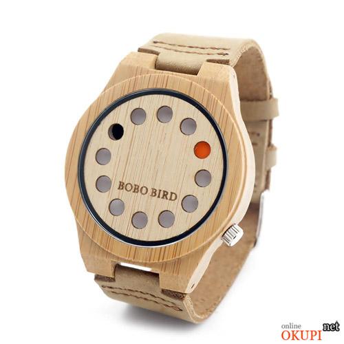 Мужские часы Bobo Bird HFYWOOD из бамбука