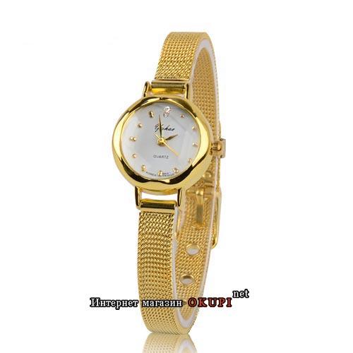 Женские золотые часы Yuhao