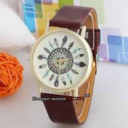 Часы цветы хиппи
