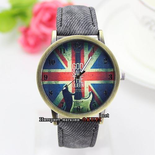 Часы God save the Queen