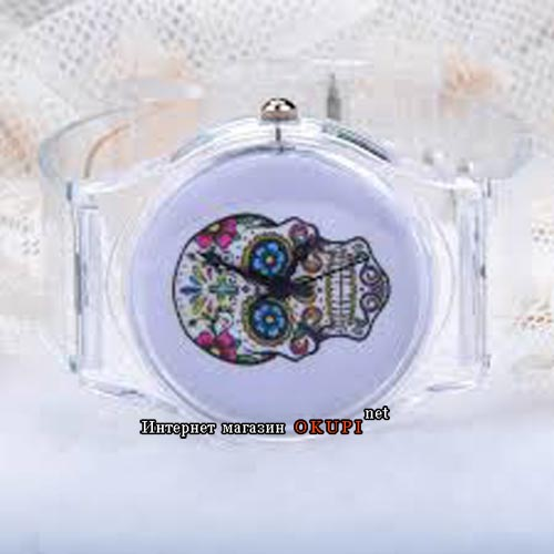 Часы Череп Хиппи