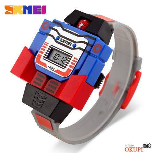 Детские электронные наручные часы Skmei 1095 для мальчика
