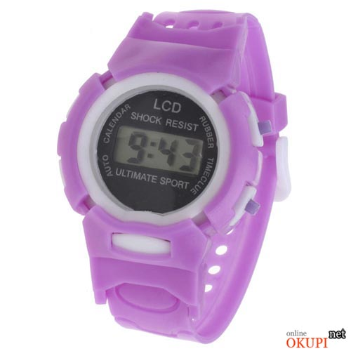 Детские электронные часы LCD Shock Resist Ultimate Sport