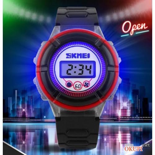 Детские наручные электронные часы Skmei 1097