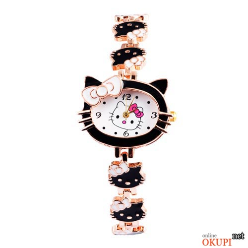 Детские кварцевые часы Hello Kitty для девочки