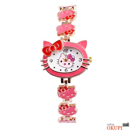 Купить детские наручные часы hello kitty