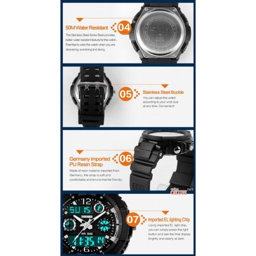 Детские электронные наручные часы Skmei 1060 для мальчика