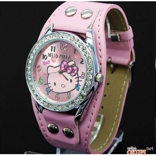 Детские кварцевые часы Hello Kitty рок для девочки