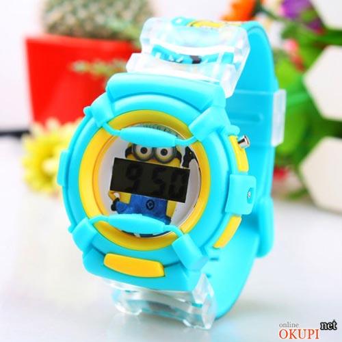 Детские электронные часы Миньоны