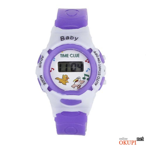 Детские электронные наручные часы Baby