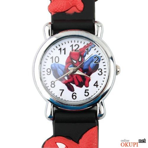 Детские кварцевые часы для мальчика Человек Паук