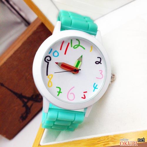 Детские кварцевые часы Карандаш