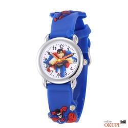 Детские кварцевые часы для мальчика Superman