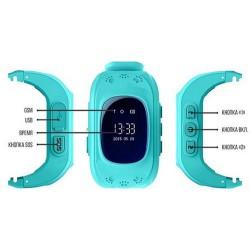 Умные часы для детей Smart baby watch Q50 с gps трекером