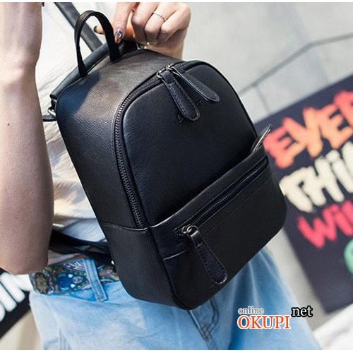 Женский рюкзак кожаный Leftside