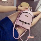 Женский рюкзак кожаный LeftSide Pink