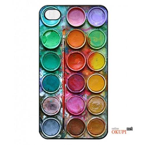 Чехол палитра цветов на Iphone 6 plus