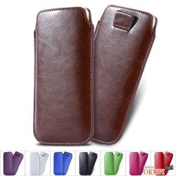 Чехол кожаный карман на Iphone 6 plus