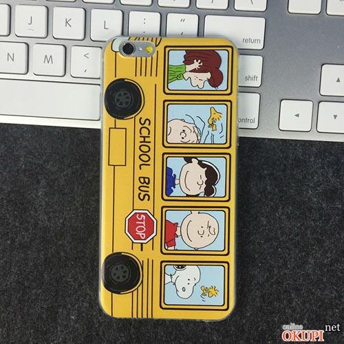 Чехол школьный автобус Iphone 6/6s